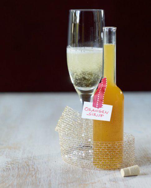 Orangensirup mit Vanille - Weihnachten: Geschenke aus der Küche - 13 - [ESSEN & TRINKEN]