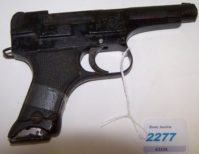 JAPANESE MILITARY TYPE 94 SEMI-AUTOMATIC PISTOL on | Firearms