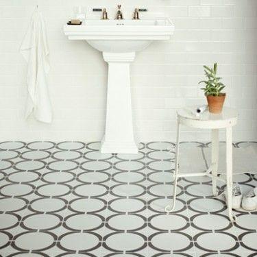 Hula Hoop Black - Neisha Crosland Tulia - Wall & Floor Tiles | Fired Earth