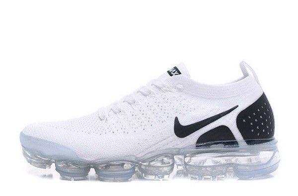 Unisex Nike Air Vapormax Flyknit 2 Blanc Noir | Nike ...