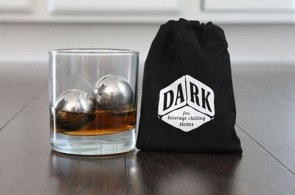 LoBall Whiskey Gift set. One 11oz Rocks glass and two small LoBall chilling spheres by SipDark. See more at SipDark.com