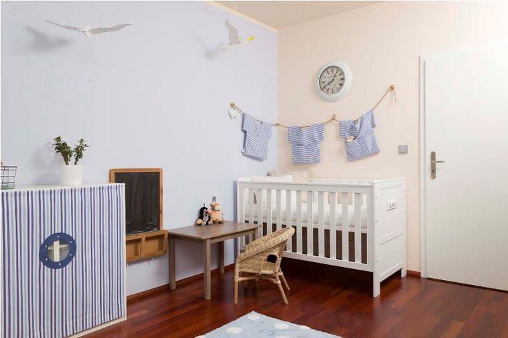 """Realizace pokoje pro miminko - """"Malý námořník"""""""