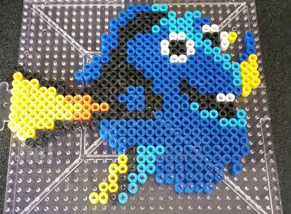 Dory perler beads by Maxlacus