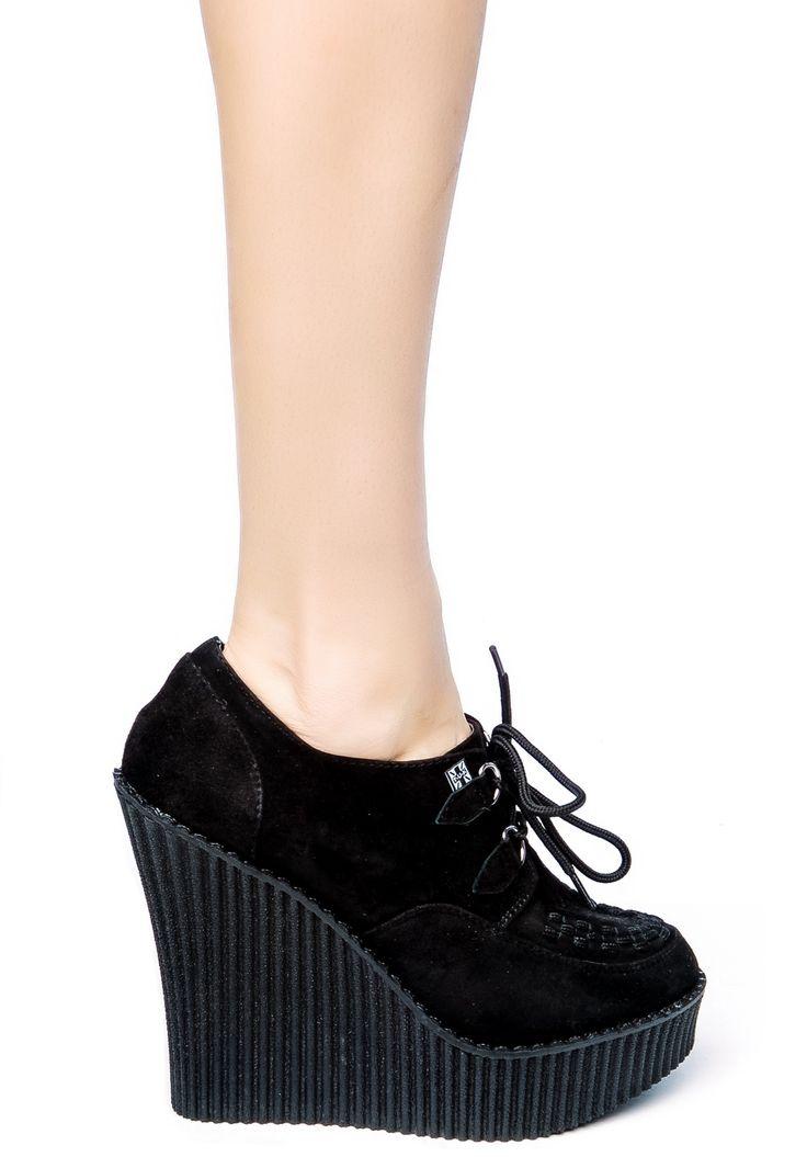 T.U.K. wedge shoes #TUK
