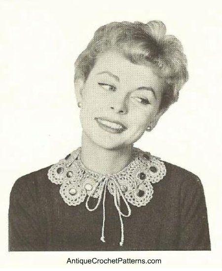 Crocheted Collar - Free Crochet Collar Pattern
