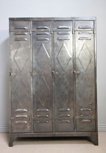 Railroad Towne Antique Mall, 319 W 3rd St, Grand Island, NE, has several metal lockers. 308-398-2222