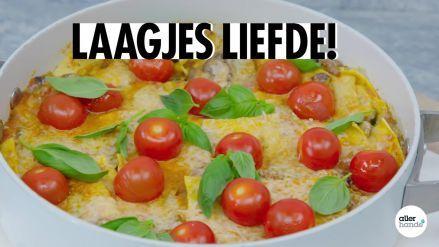Panlasagne met verse pastasaus - Recept - Allerhande