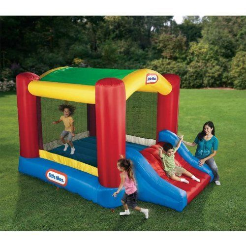 Little Tikes Shady Jump n Slide Bouncer #bouncehousesforkids