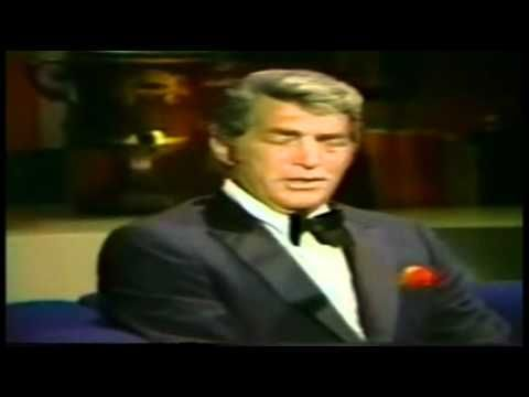 Dean Martin - My woman, my woman, my wife. What a voice and so effortlessly.