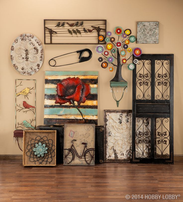 Metal Flower Wall Decor Hobby Lobby : Best anything made of metal and iron images on