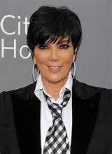 Short Haircuts Kris Kardashian