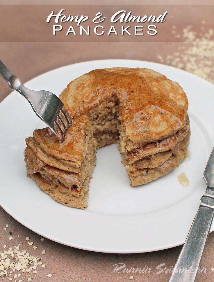Otmeal and Hemp Hearts Pancakes @ManitobaHarvest #HempHearts #SweatPink