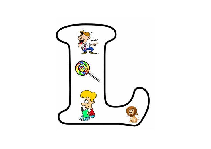 Letterpuzzel - Letter L