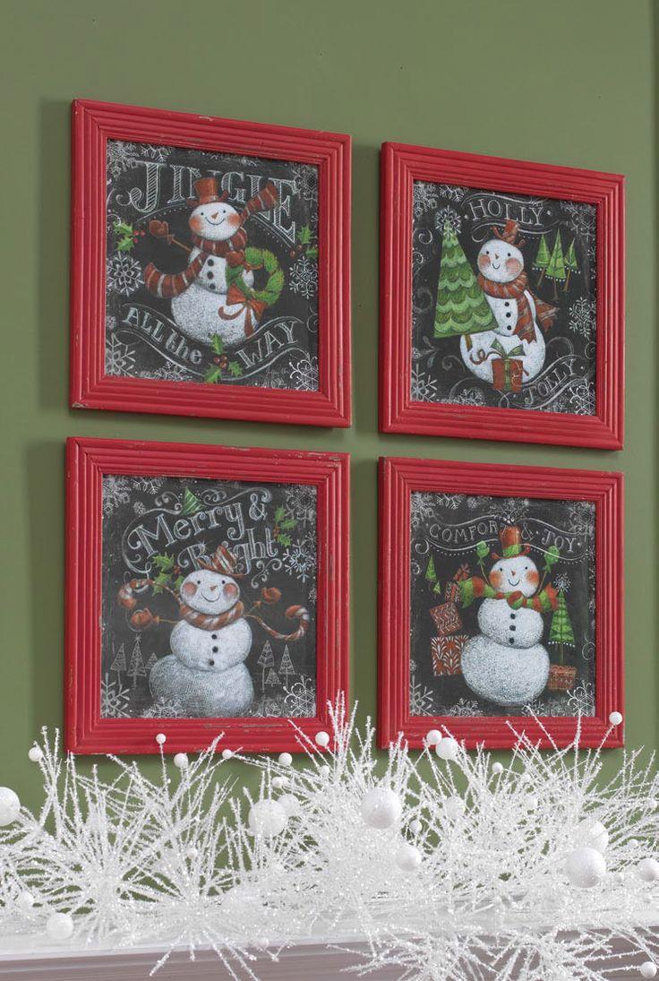 31 Best Chalkboard Images On Pinterest Christmas Crafts