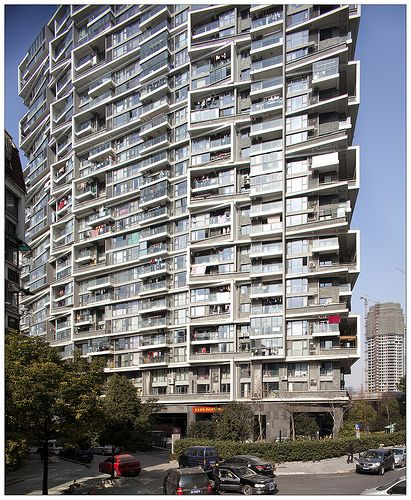 Vertical Housing. Wang Shu (Amateur Architecture Studio), 2002- 2007. Hangzhou, China.