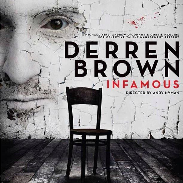 My poster design for Derren Brown Infamous UK & Ireland tour. - @pixeldandy- #webstagram
