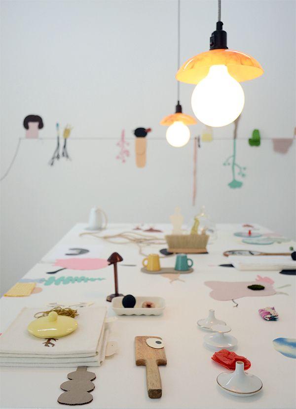 Pia König's and Camilla Engman's collaboration