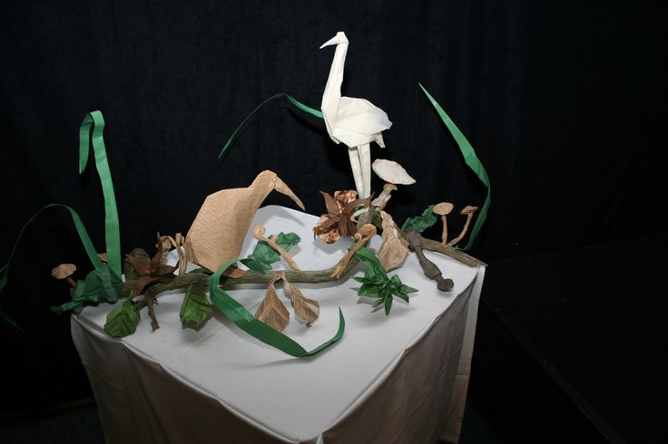 Birds Origami - Crative Event Display for International Sister Cities Conference - Plico Design
