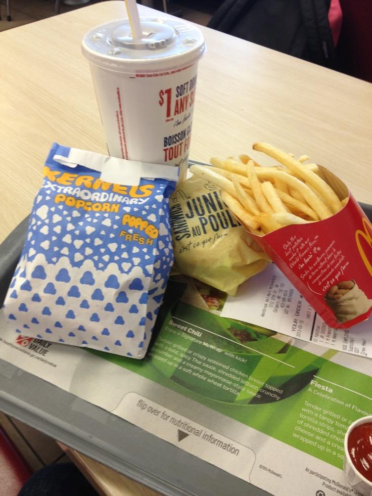 Popcorn with McDonald's?