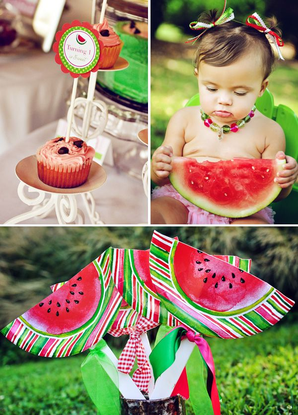 A Watermelon Extravaganza! {First Birthday} // Hostess with the Mostess®