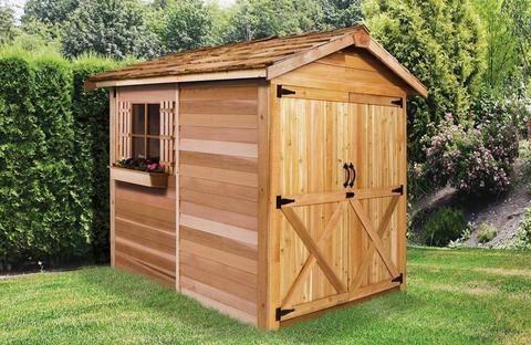 Large Cedar Shed Kits Cedar Shed Farmhouse Sheds Shed Plans