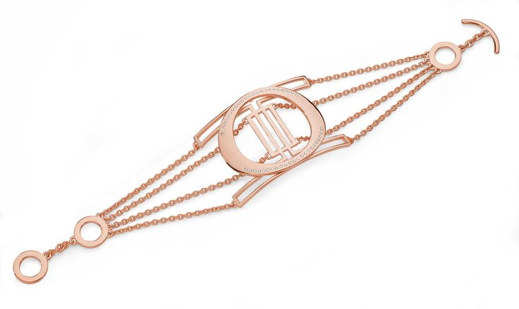 Think Luxe, Think Glamour, Think Deco. Lucy Q ADB1R Art Deco Sterling Silver Rose Gold Vermeil Bracelet $855.00 All pieces in the collection truly evoke deco style, from the geometric shapes to a distinct feeling of glamour.