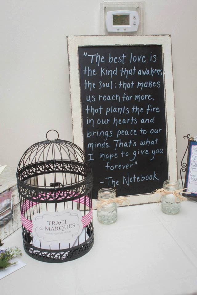 Wedding Gift Table Sayings : ... Gifts Tables, Cards Holders, Cards Wedding, Gift Table, Love Quotes