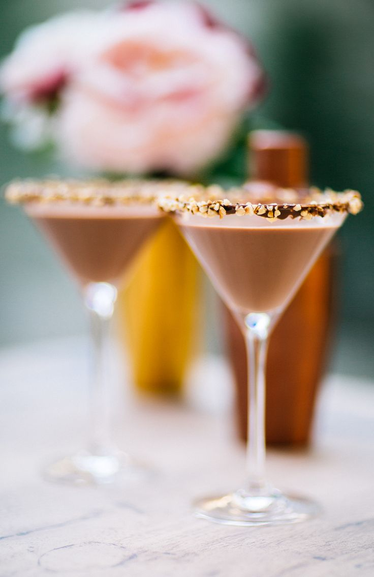 NUTELLA MARTINIS! (I know.) Just in time for Easter Weekend