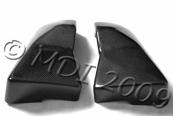Carbon Fiber Kawasaki ZX12R Air Box Side Covers Fits 2001 2005