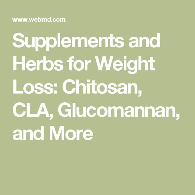Herbs for weight loss Supplements and Herbs for Weight Loss