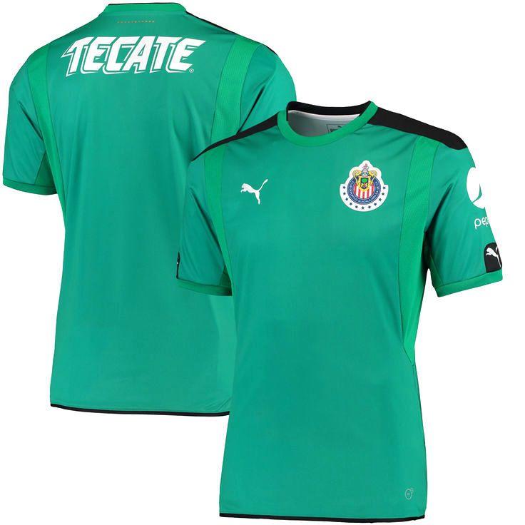 Chivas Puma Away Replica T-Shirt - Green - $75.99