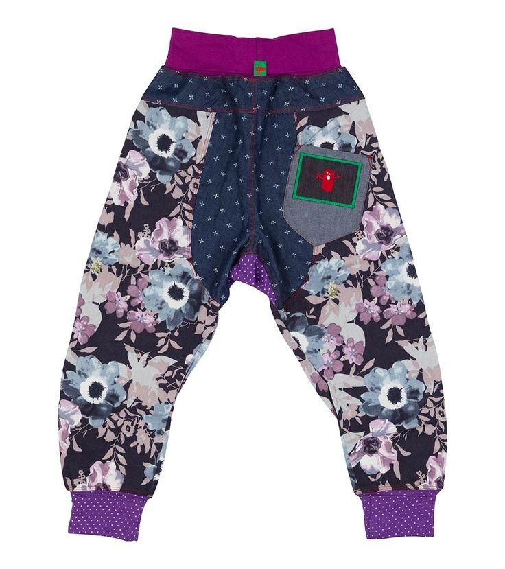 Bubbles Harem Pant - Big, Oishi-m Clothing for kids, Winter 2016, www.oishi-m.com