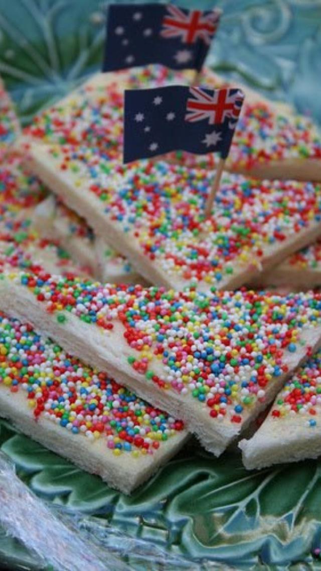 AUSTRALIA DAY - Fairy bread
