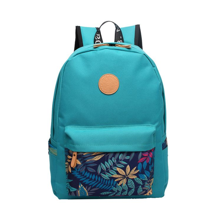 Japan design young people Backpack Zipper Solid Color Oxford Travel Bag bookbag high school college Students Pack Bag (Blue)(Export)(Intl) | Lazada Singapore