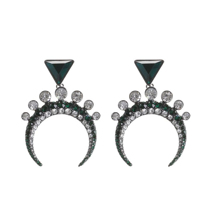 On a midnight blue setting, these are the perfect earrings to take from day to night