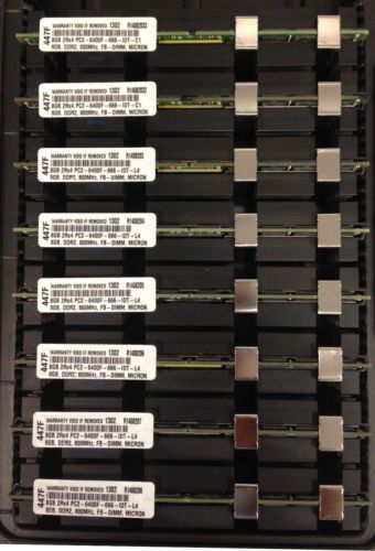 64GB (8X8GB) DDR2 6400 800MHz MEMORY FOR APPLE MAC PRO GEN 31 and 32