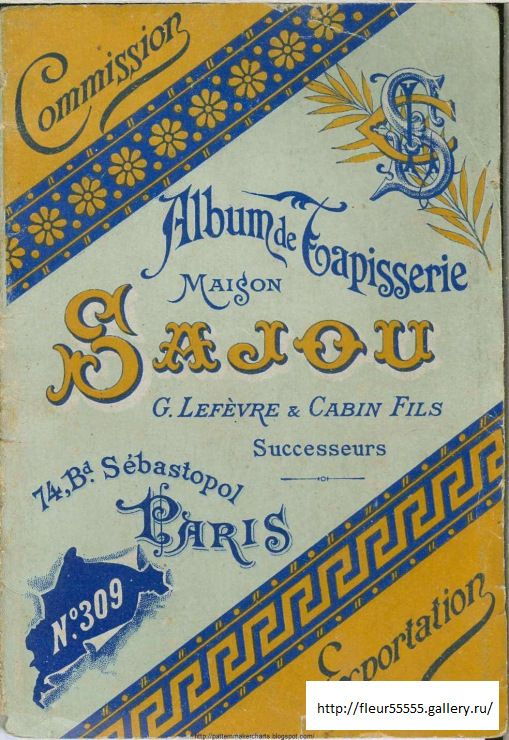 Gallery.ru / Фото #10 -  309 - Fleur55555 - Album de Tapisserie  Maison Sajou No 309 (01 of 10)