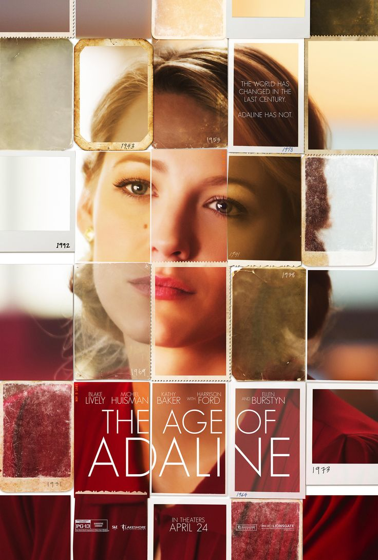 "Watch ""The Age of Adaline"" trailer and see the poster starring Blake  Lively. The film tells the story of a woman, Adaline, who does not age for  nearly eight ..."