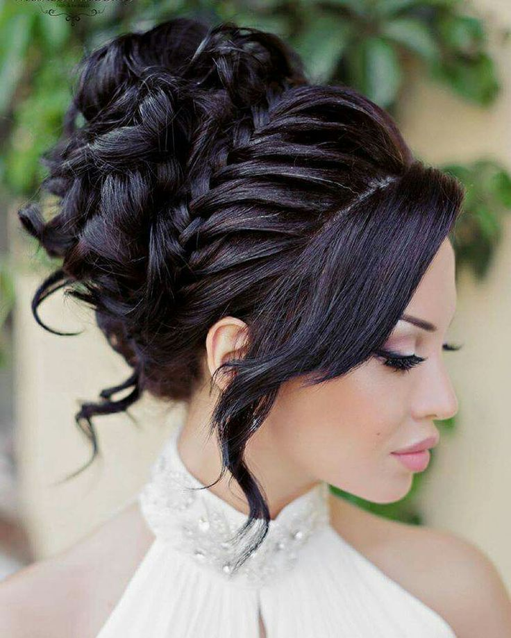 Gorgeous bridal style