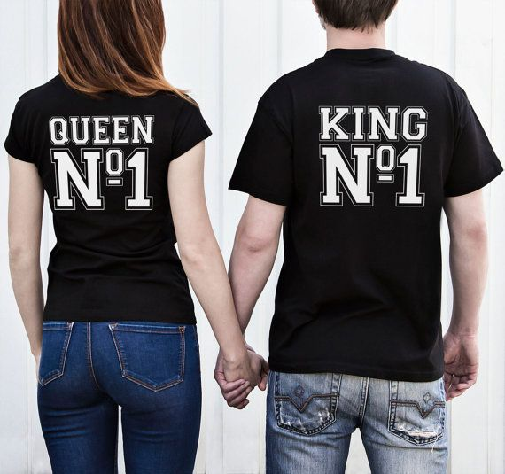 Couples shirts King and queen shirt Couple t shirts by LetsDoMAGIC