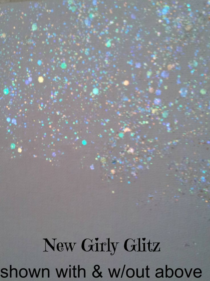 New Non Toxic Eco Friendly Glitter  Wall Paint. A topcoat of glitter which goes on clear showing its glittery finish.