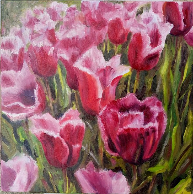 View Tulips by Mag Verkhovets. Browse more art for sale at great prices. New art added daily. Buy original art direct from international artists. Shop now