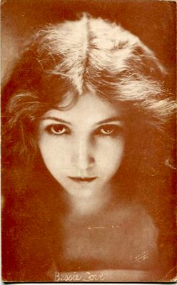 Silent film actress Bessie Love,  1920s