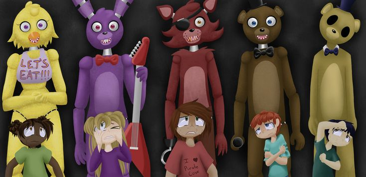 Fnaf kids wallpaper does the kid possessing foxy remind anyone of