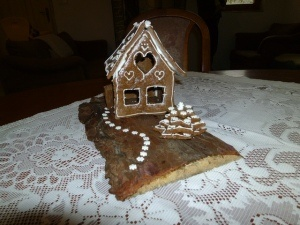 Doktor Oetker gingerbread house!