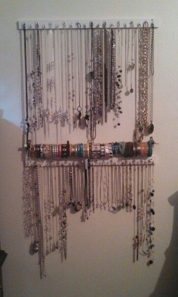 how to make a necklace stand easy