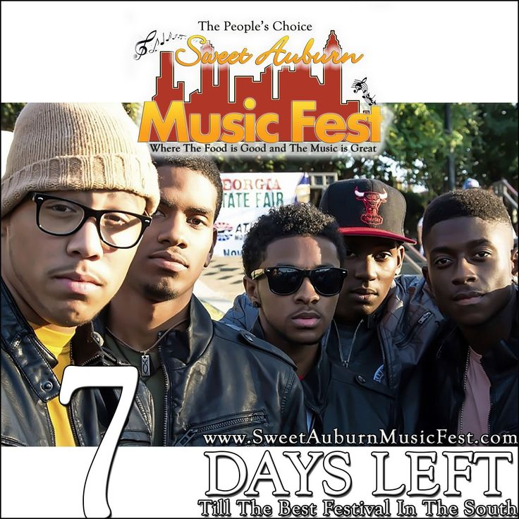 7 More Days till the best festival in the Atl! Something there for everyone in the Family! Hope to see you there! @sweetauburnmusicfest #sweetauburnmusicfest #samusicfest #samusicfest2017 #Atlanta #picoftheday #1 #hiphop #randb #musicians #music #soul #jazz #gospel #fest #festival #auburnave #edgewood #4thward #history #vendors #food #international #Georgia #family #friends #people #goodfoodgreatmusic #BoyBand
