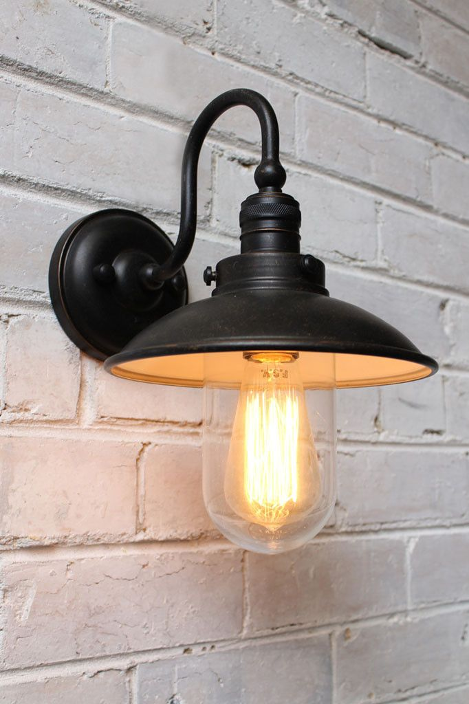 Vintage Gooseneck Wall Light