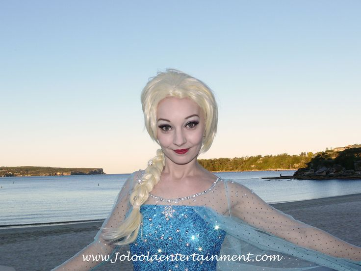Book Sydneys premium Snow Queen for your next party or event!