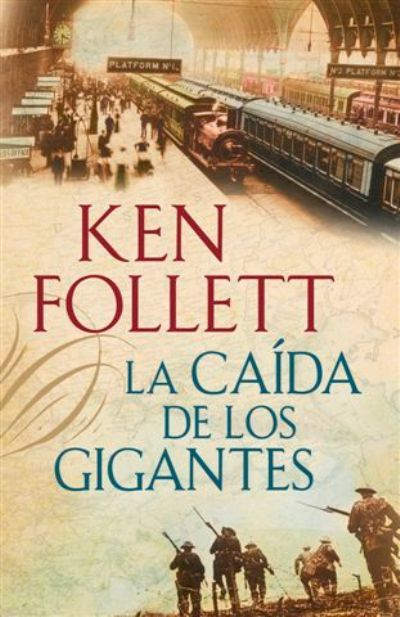 La caida de los gigantes, de Ken Follett. Todo un año esperando la segunda parte y por fin esta aquí!!!!